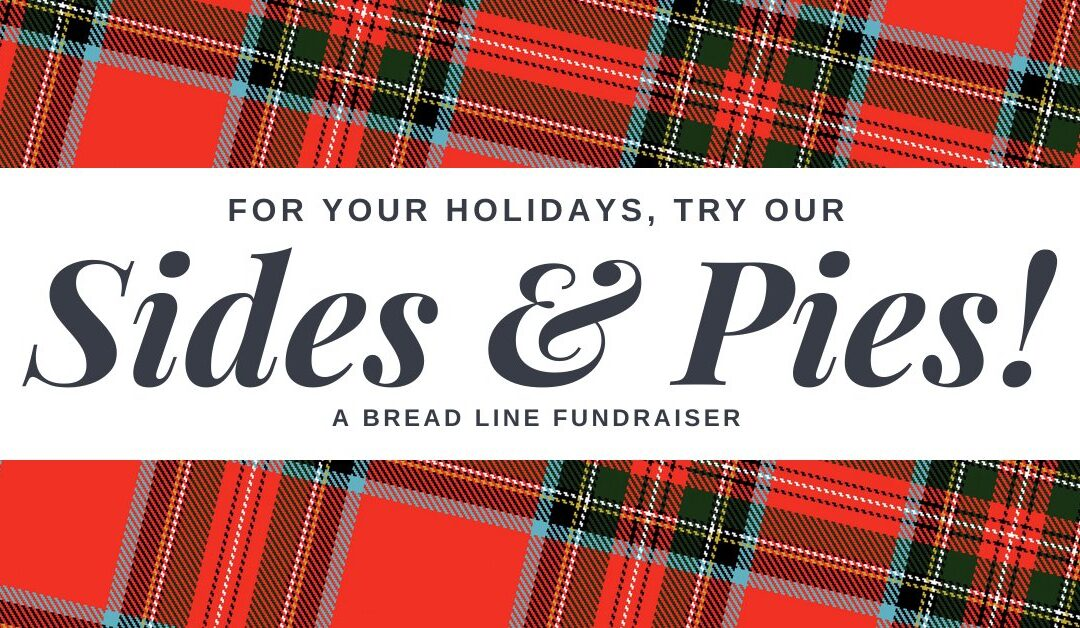 Holiday Sides & Pies Fundraiser