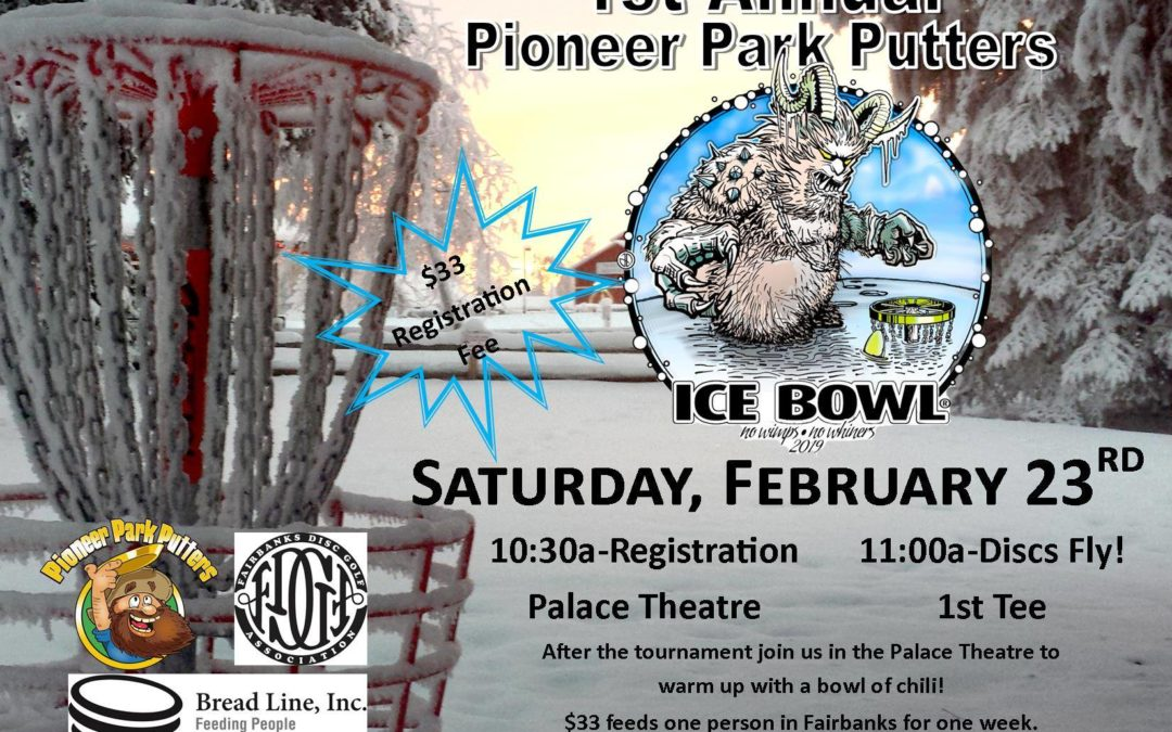 1st Annual Ice Bowl and A Fundraiser for Bread Line!
