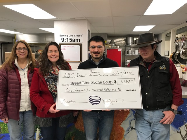 ABC Inc. Donation to the Bread Line