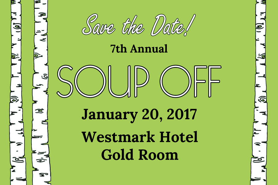RSVP for the 7th Annual Souper Soup Off