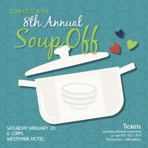 8th Annual Soup Off @ Westark Fairbanks Hotel, Gold Room | Fairbanks | Alaska | United States