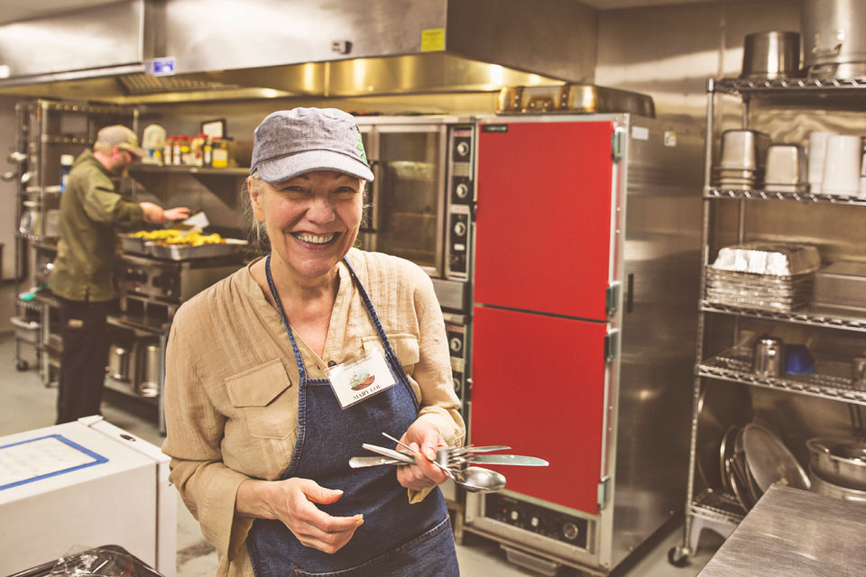 Volunteers Support Stone Soup Cafe