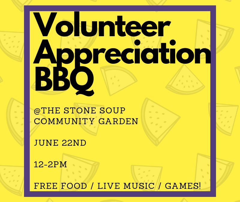 Volunteer Appreciation BBQ